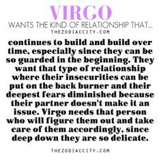 Zodiac Files: Virgo Ideal Relationship.