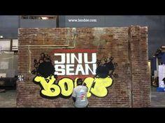 """지누션""""한번더말해줘""""그래피티 메이킹영상입니다. Graffiti by LEODAV www.leodav.com"""