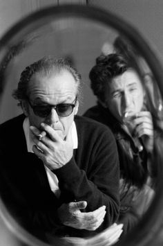 Jack Nicholson & Sean Penn, Deauville, France 1995. Image by © Luc Roux/Corbis © Corbis. All Rights Reserved. °