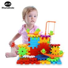 81 Pieces Electric Magic Gears Building Blocks Kits Plastic Funny Bricks Educational Toys For Children Kids Toy Christmas Gifts Sale Price:  US $7.99