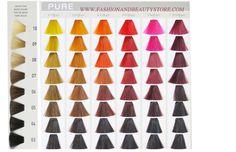 Goldwell Elumen Color Chart Part 4