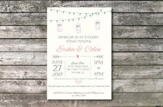 Engagement Party Invitation by ElsyPaper on Etsy