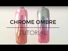 ROSE GOLD CHROME MIRROR NAILS!! - YouTube