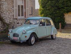 2cv Psa Peugeot Citroen, 2cv6, Cars And Motorcycles, Transportation, France, Collections, Vehicles, Vintage, Vintage Cars
