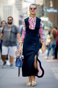 Get Your Street Style Fix Straight From New York Fashion Week Day 8 Natalie Joos