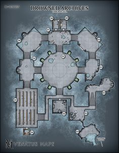 Last month I collaborated with my Patrons on my first multi-level dungeon: The Drowned Archives. - Album on Imgur