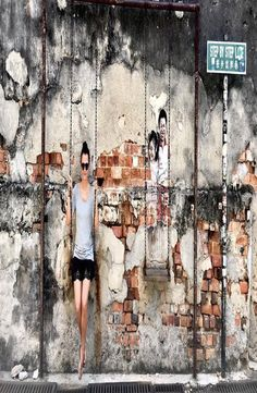 Georgetown is the capital city of the Malaysian state Penang. It is located at the tip of Penang Island and famous for the Georgetown street art. Georgetown Malaysia, Street Art, Explore, Painting, Painting Art, Paintings, Exploring, Drawings