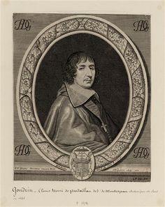 Msgr. Louis Henri de Pardaillan de Gondrin, Archevêque de Sens (1620-1674).