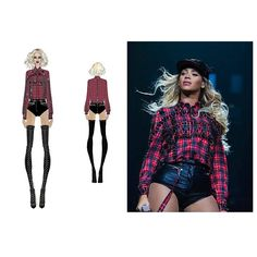New Mrs. Carter Show World Tour outfit, by Givenchy.