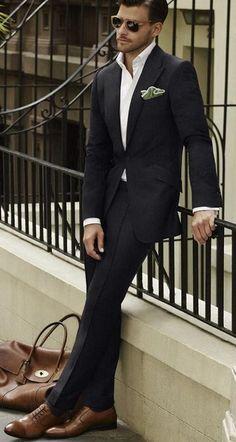Handsome suit