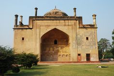 The Tomb of Allama Afzal Khan Mullah of Shiraz in Agra is known as Chini Ka Rauza. It is a monumental building, which is situated on the east of the Yamuna River. Visit India, Historical Monuments, Mosques, Places Of Interest, Agra, Indian Art, Art And Architecture, Islamic, Taj Mahal