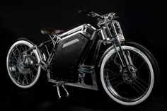 photo for a news electric bike : Renaissance Scooter Bike, Motorcycle Bike, Electric Scooter, Electric Cars, Electric Vehicle, Bici Fixed, Beach Cruiser Bikes, Beach Cruisers, Motor Scooters