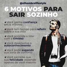 El Hombre (@elhombrelifestyle) • Fotos e vídeos do Instagram Motivation Psychology, My Life Style, Practical Life, Staying Alive, Marketing, Self Improvement, Personal Development, Life Lessons, Coaching