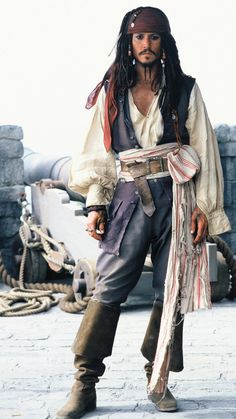 Jack Sparrow portrayed by Johnny Depp.Captain Jack Sparrow, if you please Captain Jack Sparrow, Jake Sparrow, Costume Jack Sparrow, Jack Sparrow Halloween Costume, Jack Sparrow Cosplay, Jack Sparrow Fantasia, Johny Depp, Last Minute Costumes, The Lone Ranger