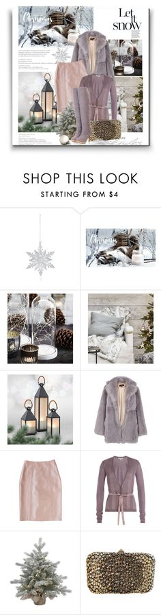 """""""Christmas Eve"""" by monika-jall ❤ liked on Polyvore featuring Bloomingdale's, TIBI, Plakinger, Etro and Valentino"""
