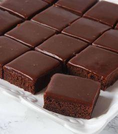 chokladfudgebrownies6 Fun Baking Recipes, Easy Cake Recipes, Candy Recipes, Sweet Recipes, Snack Recipes, Snacks, Easy Smoothie Recipes, Easy Smoothies, Cupcake Cream