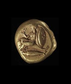 Gold Coin. Nereid. Cyzicus Ca. 430-400 BCE. Gold. | Copyright © The Israel Museum, Jerusalem 1995- 2015.