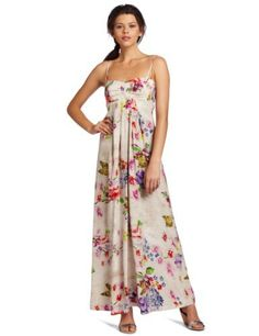 Betsey Johnson Women's Maxi Dress, White/Multi, 4 Betsey Johnson,http://www.amazon.com/dp/B007M8SU00/ref=cm_sw_r_pi_dp_vfWMrb3AB2F74C95