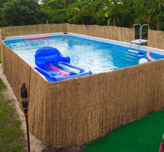 wooden pools wood above ground swimming pools home pinterest g rten. Black Bedroom Furniture Sets. Home Design Ideas