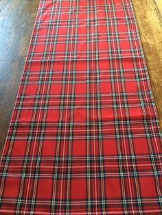 Hand Made Christmas Table Tartan table runner Converse Store, Converse Outlet, Fabric Christmas Decorations, Christmas Fabric, Burns Night Decorations, Fabric Decor, Tartan, Man Shop, Handmade