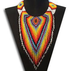 Embera V Choker Necklace - White