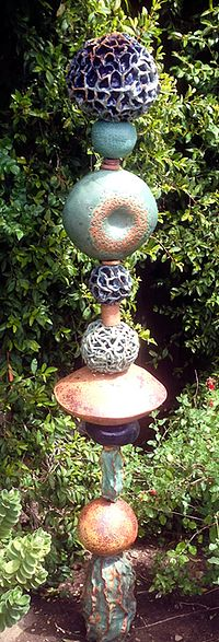 Totems for the garden