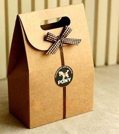 10 pcs Kraft paper bags Cake & Cookies Wrappers - Cookies, Snacks, Party, Favor, Gift, Wedding, Bread Handmade food package