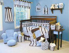 64 Blue Nursery Ideas — Style Estate