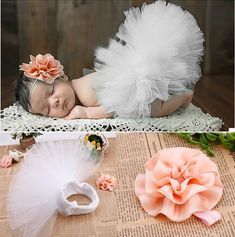 Finally a tutu as cute as the one wearing it. Made for Newborn or infant Full Skirt TuTu with matching headband Fits Newborn to 6 months åÊ åÊ åÊ Baby Girl Photography, Newborn Photography Props, Baby Tutu, Baby Girl Newborn, Baby Girls, Infant Tutu, Newborn Tutu, Baby Girl Photos, Baby Pictures