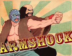 Brad and Shocklord ( LISA the Painful RPG ) In helpless and hopeless story, Shocklord was an oasis in my heart.