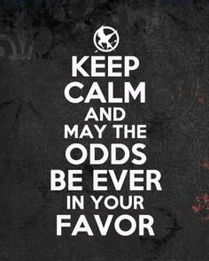 FREE PRINTABLE POSTER  Keep Calm Hunger Games.jpg