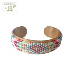 Cuff Armband Aztec II - JUST BECAUSE fashion accessoires