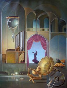 Cюрреализм. Gyuri Lohmuller. Surrealism (167 работ)