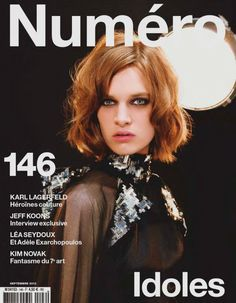 Ashleigh Good, Cara Delevingne by Karl Lagerfeld for Numéro #146 September 2013 1