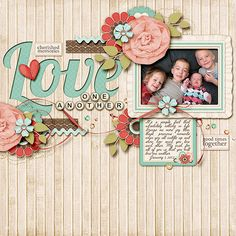 Love One Another - Scrapbook.com