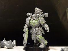 Super Massive Beast: The first Heretic? -- True Scale Black Legion Chaos Space Marine