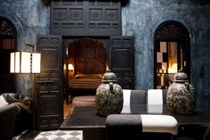 Moroccan style at this B & B in Marrakech. Dar Darma
