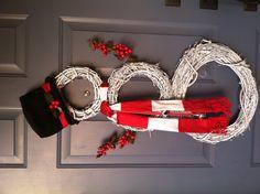 Snowman Christmas Wreath(s)