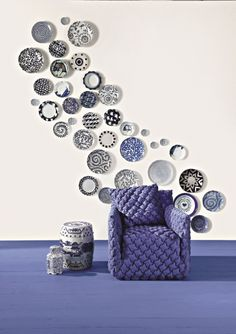 Buy online Ghost 05 By gervasoni, armchair with armrests with removable cover design Paola Navone, ghost Collection Wicker Furniture, Modern Furniture, Paola Navone, Color Stories, Wall Art Sets, Plates On Wall, Decoration, Cover Design, Design Projects