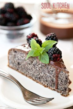 After the fist bite, came the second. This is a real proof that this cake is awesome and we gladly recommend it. #cake #poppyseedcake #dessert