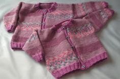 Knitting Galore: Easy Knit Baby to Toddler Button Up Cardigan.
