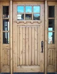 We install and repair Solid Wood Entry Doors for residential homes