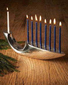 Illume+Menorah+by+Nambe+at+Neiman+Marcus. Hanukkah MenorahHappy  HanukkahHannukahJewish CelebrationsCandle / LampJerusalem ...