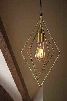 Assembly Home Wyatt Diamond Pendant Light - Urban Outfitters