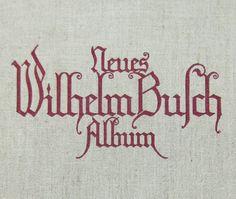 Neues Wilhelm Busch Album