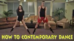 How to Contemporary Dance. I'M DYING.