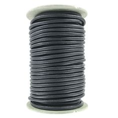 (SKU# Sold per pack of 1 spool(s). Jewelry Making Supplies, Leather Cord, Matte Black, Ebay