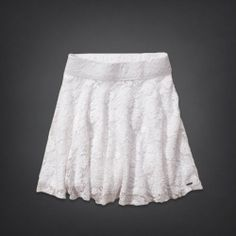 Hollister High Rise Lace Skater Skirt!!!!! love it