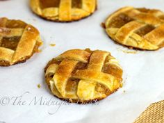 Apple Pie Cookies by The Midnight Baker. Apple Pie Cookies are made entirely with convenience ingredients.