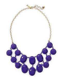Kate Spade New York Painted Jewels Necklace | Piperlime